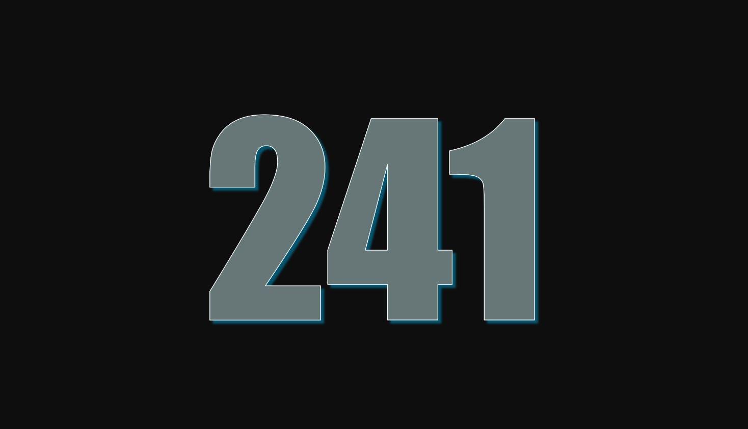 Significado del número 241
