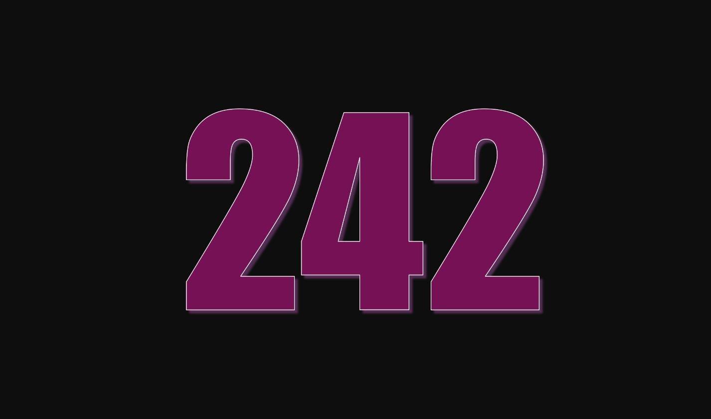 Significado del número 242
