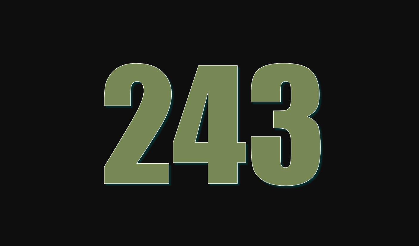 Significado del número 243