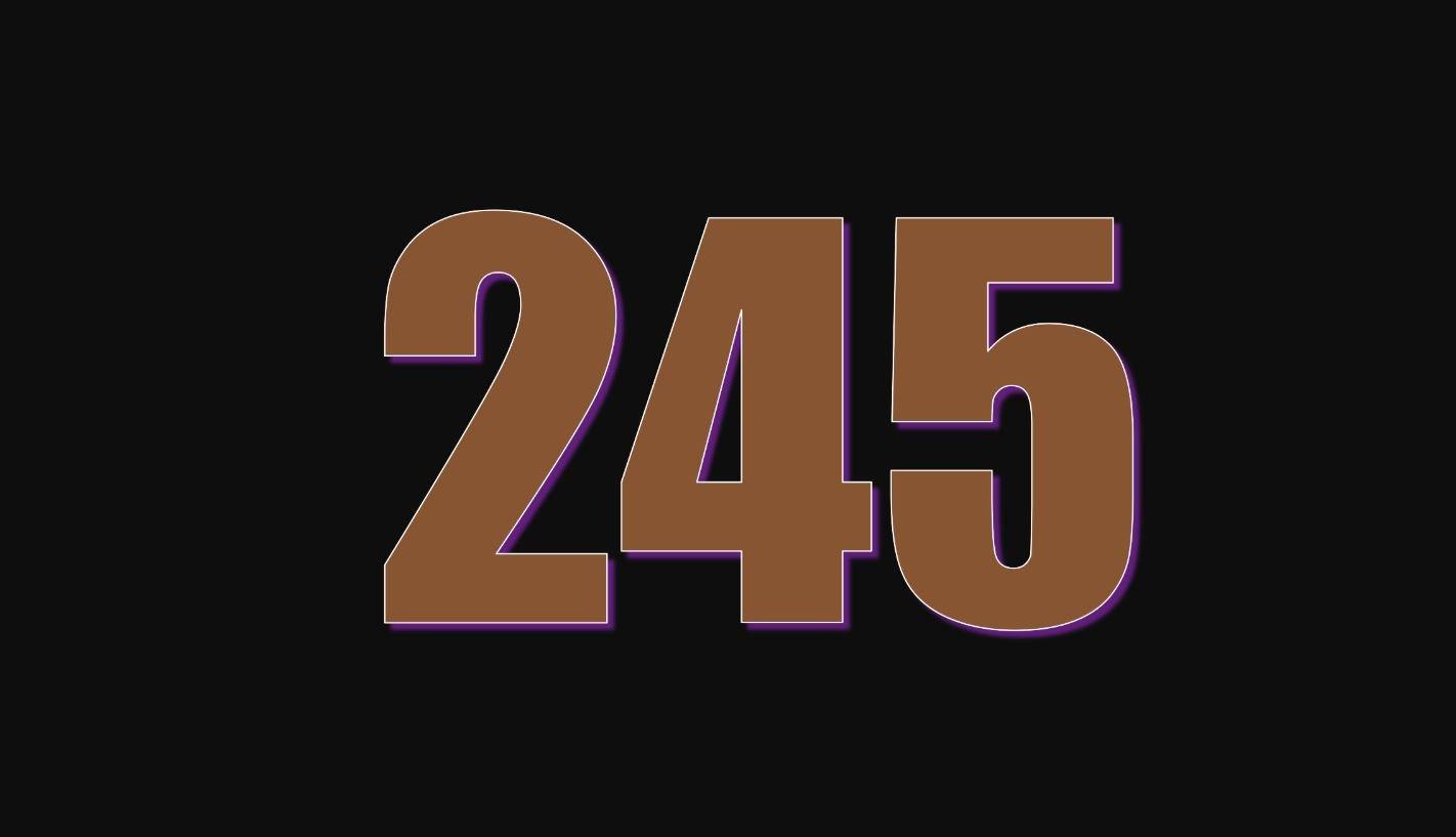 Significado del número 245