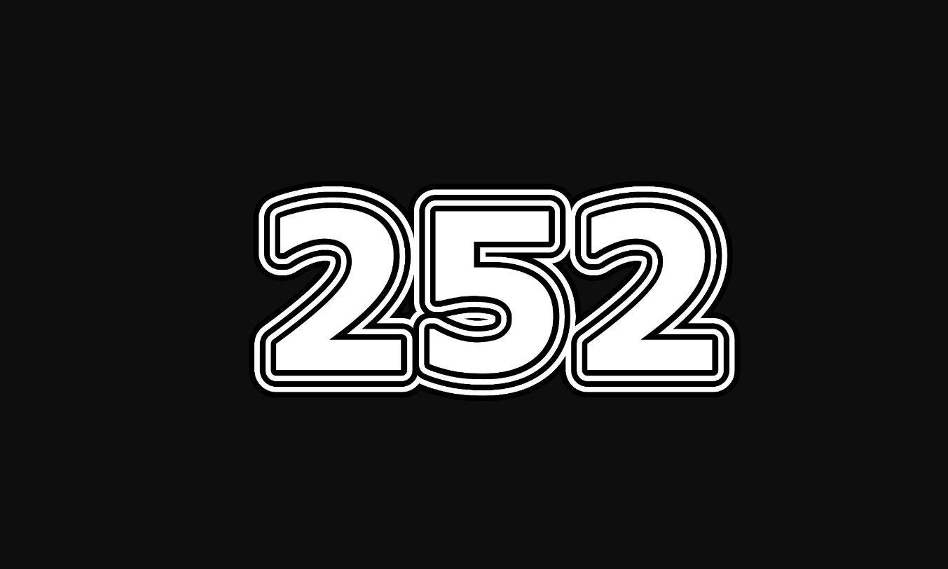 Significado del número 252