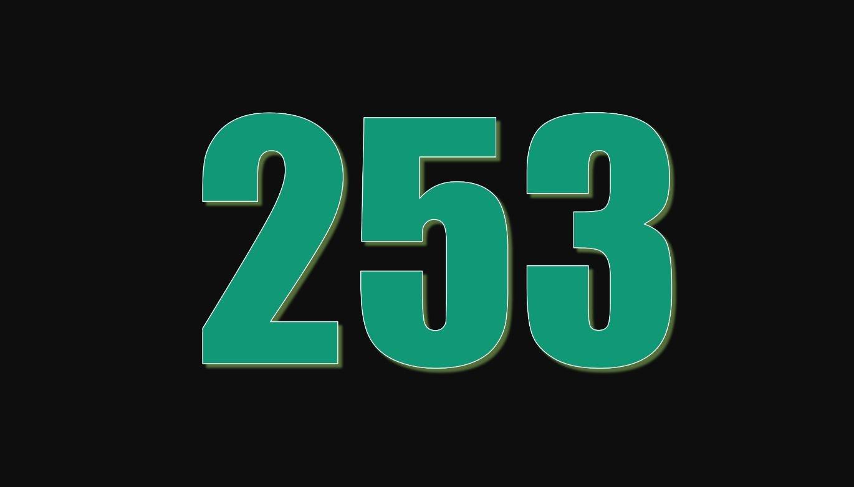 Significado del número 253