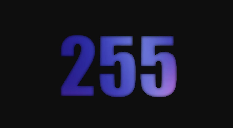 Significado del número 255
