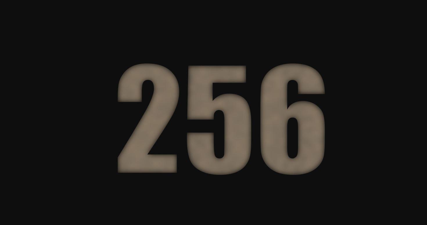 Significado del número 256