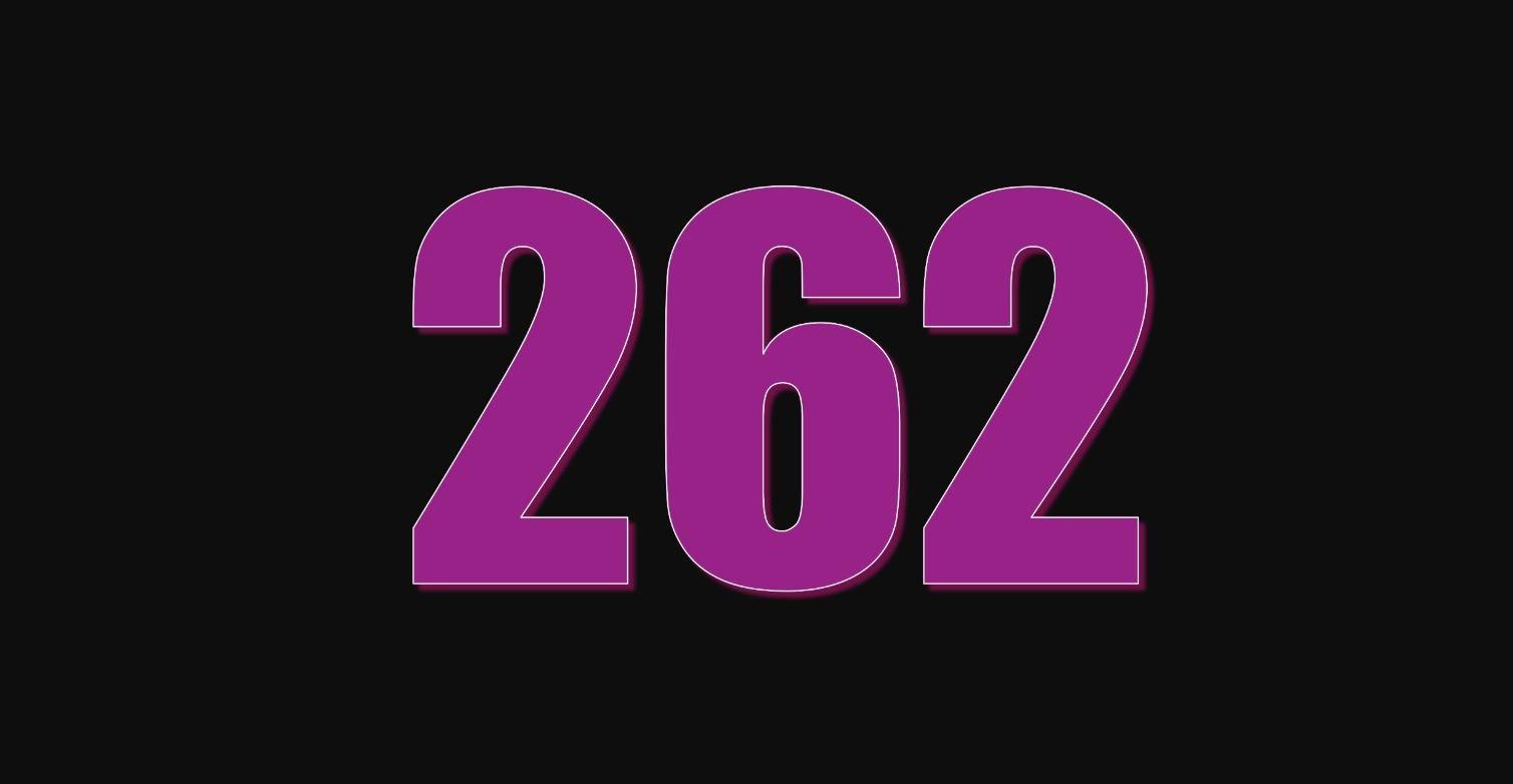 Significado del número 262