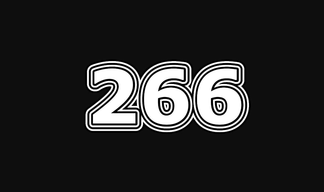 Significado del número 266