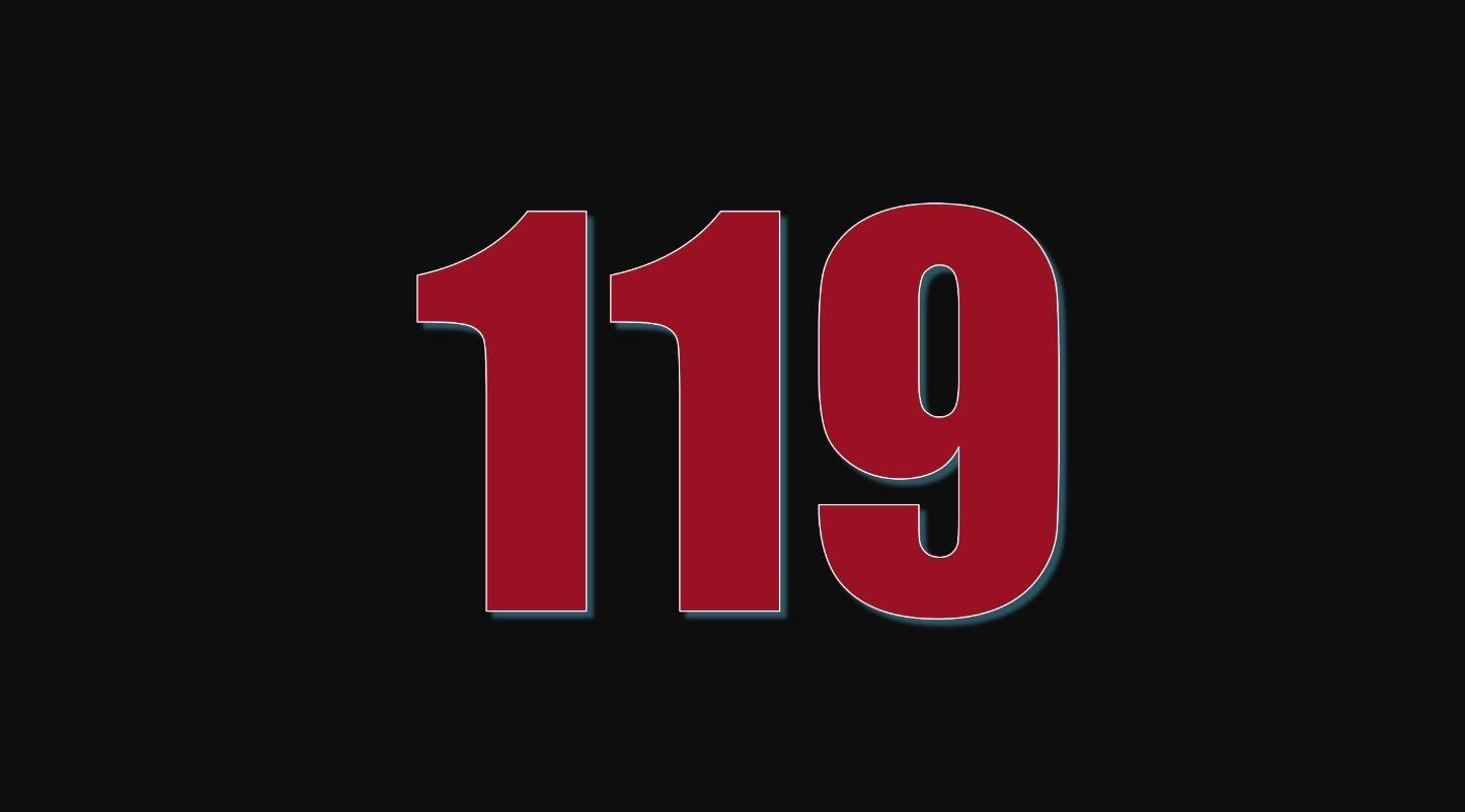 Significado del número 119