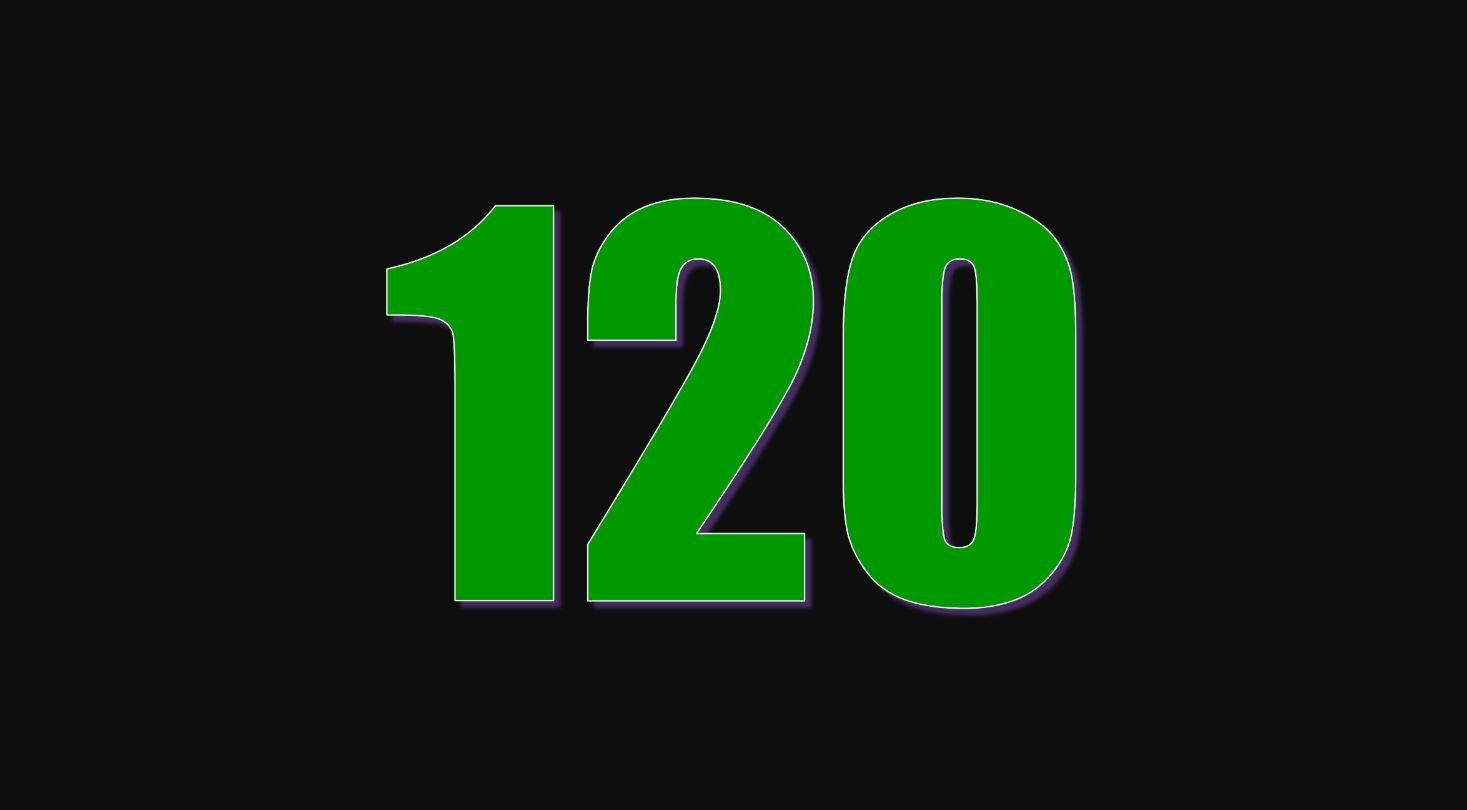 Significado del número 120