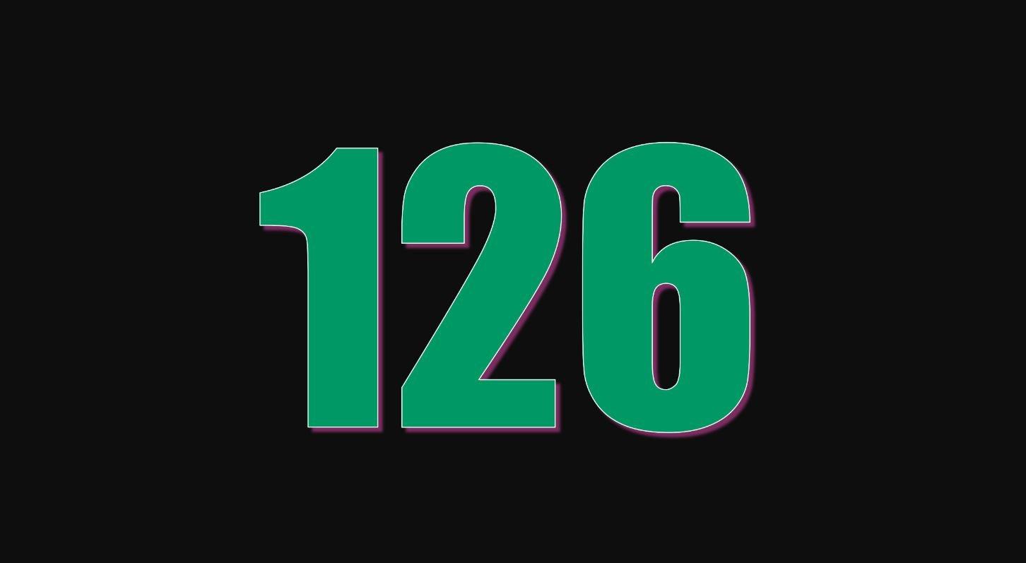 Significado del número 126