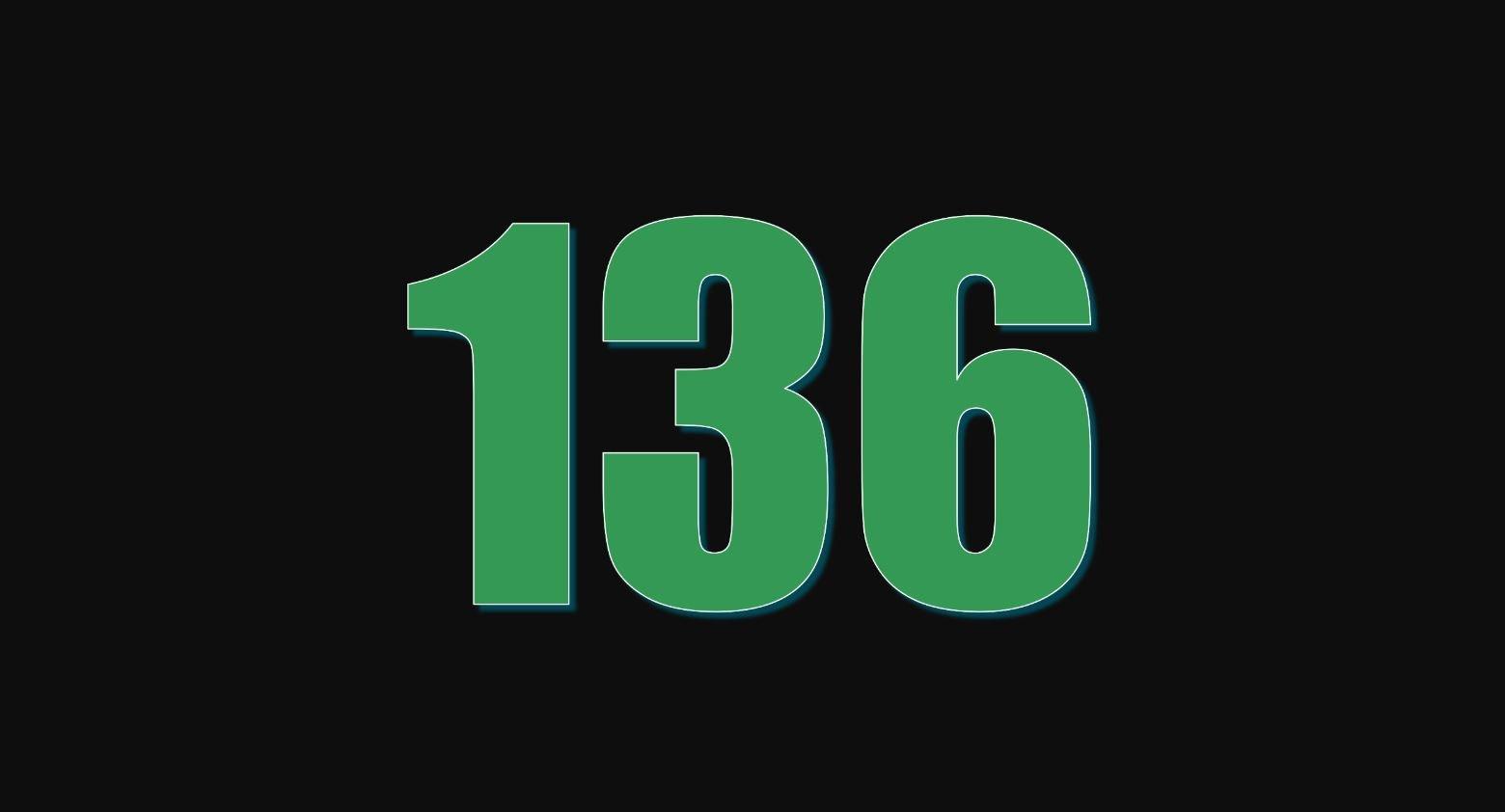 Significado del número 136