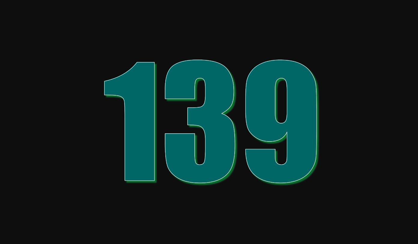 Significado del número 139