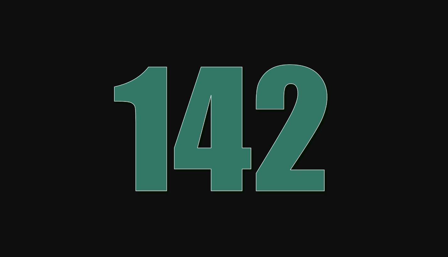 Significado del número 142