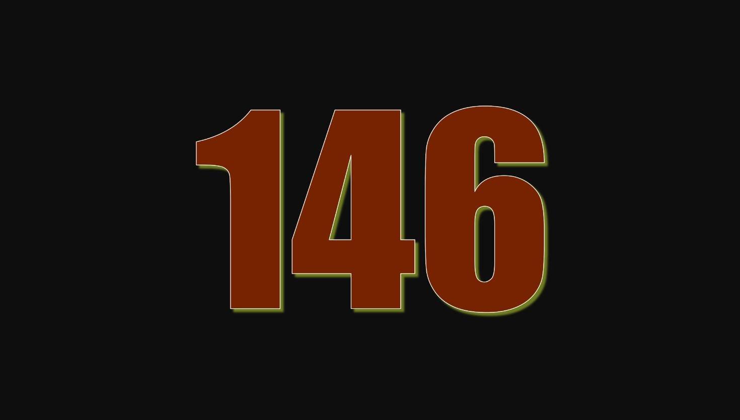 Significado del número 146