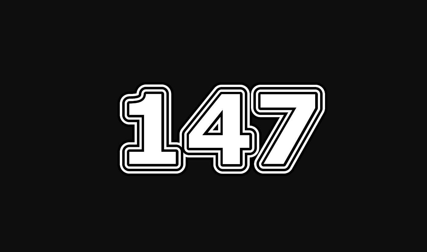 Significado del número 147