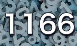Significado del número 1166: Interpretación de la numerología