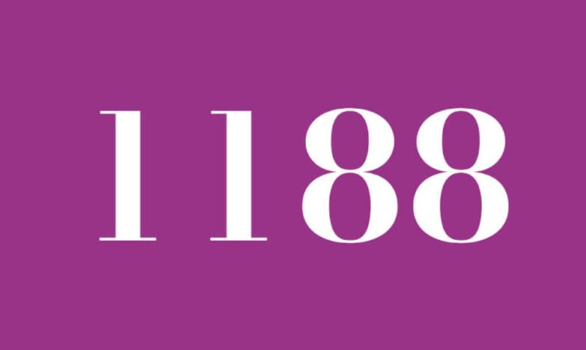Significado del número 1188