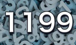 Significado del número 1199: Interpretación de la numerología