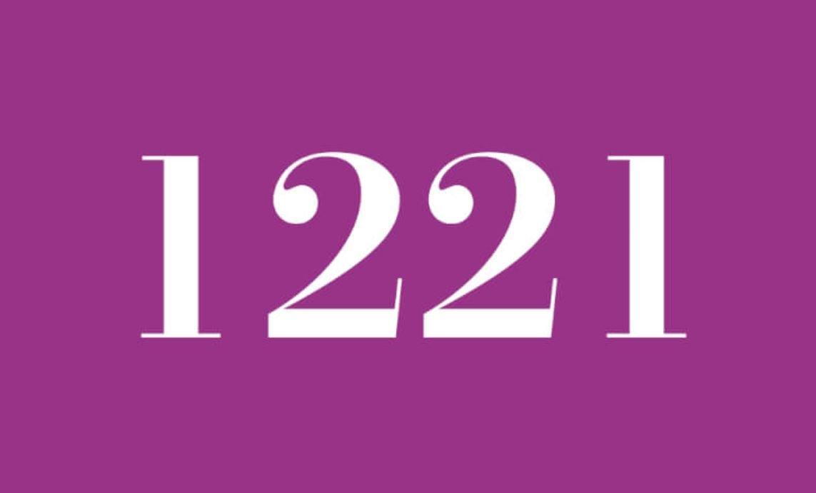 Significado del número 1221
