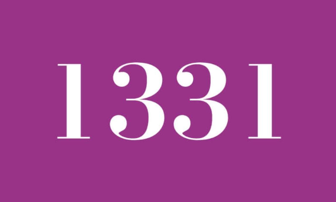 Significado del número 1331