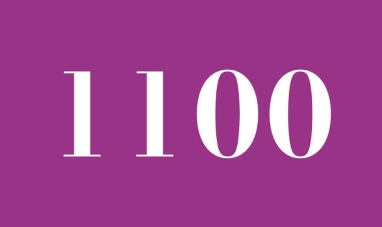 Significado del número 1100