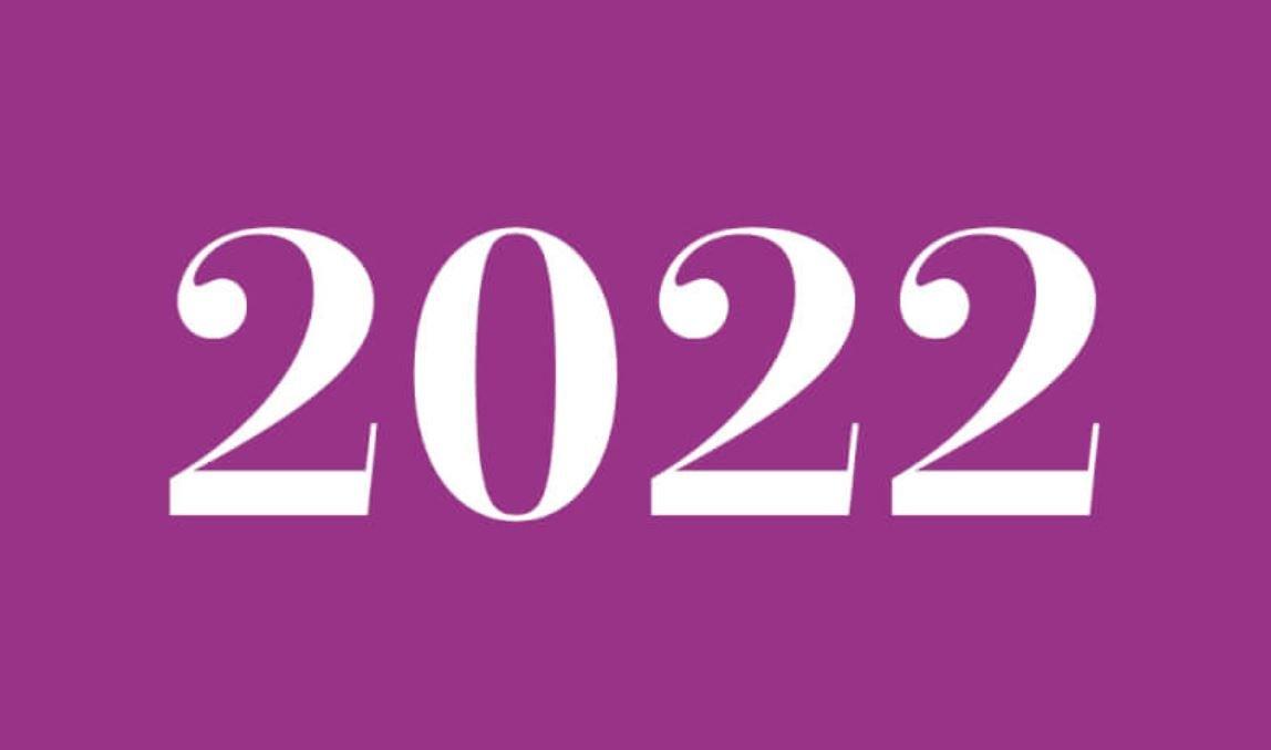 Significado del número 2022