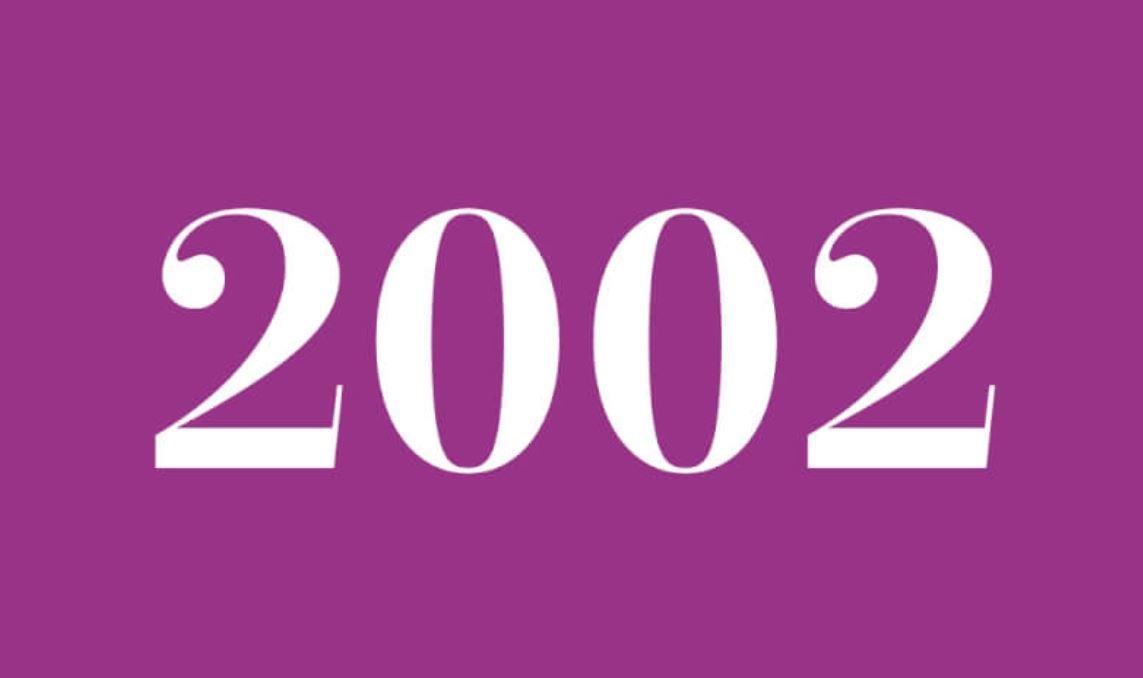 Significado del número 2002