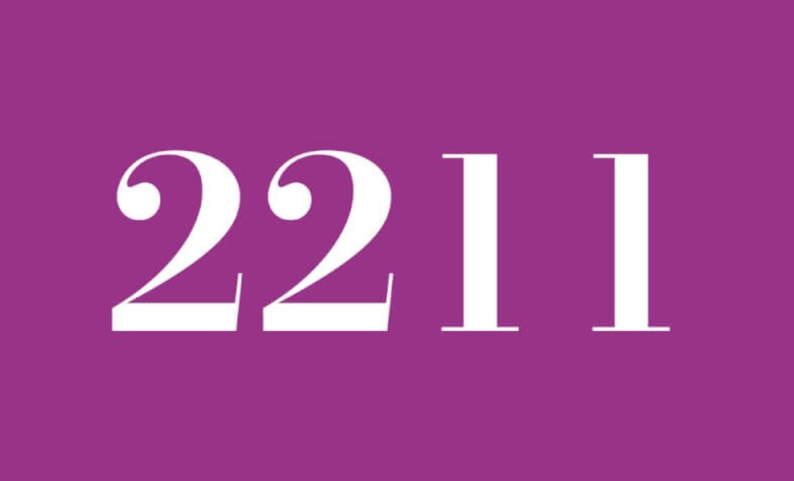 Significado del número 2211
