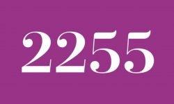 Significado del número 2255: Interpretación de la numerología