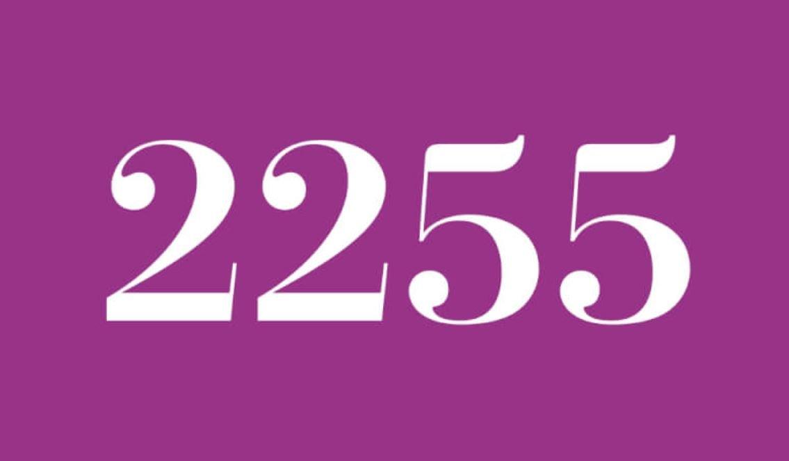 Significado del número 2255