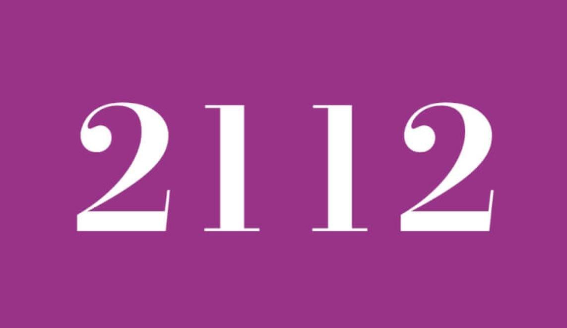 Significado del número 2112
