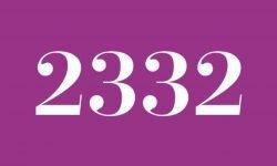 Significado del número 2332: Interpretación de la numerología