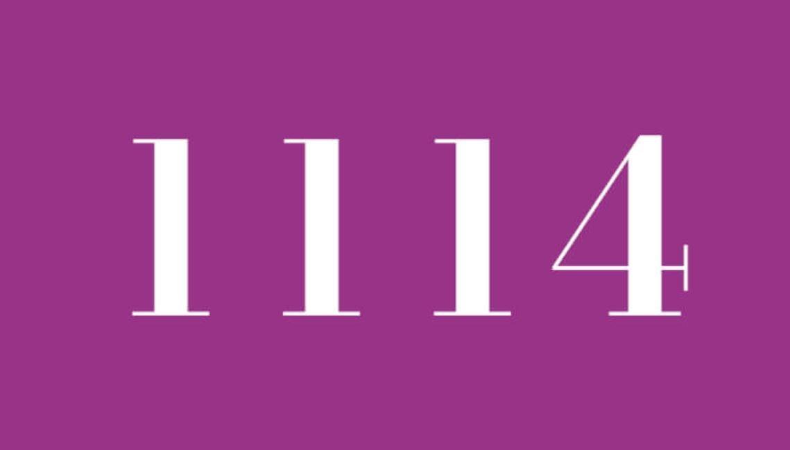 Significado del número 1114