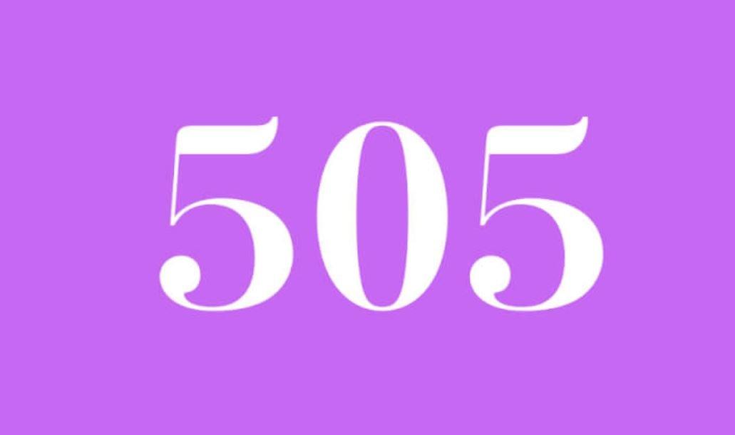 Significado del número 505