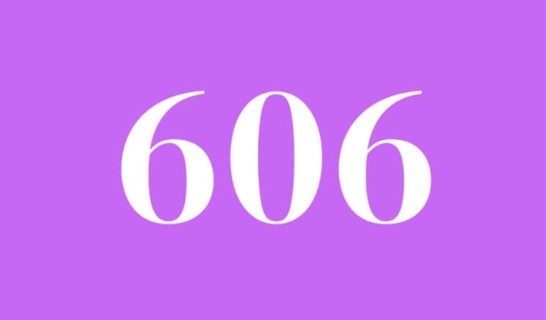 Significado del número 606