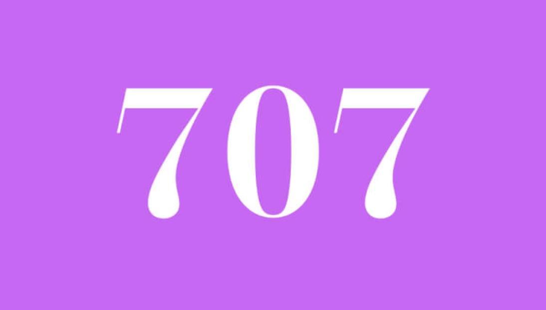 Significado del número 707