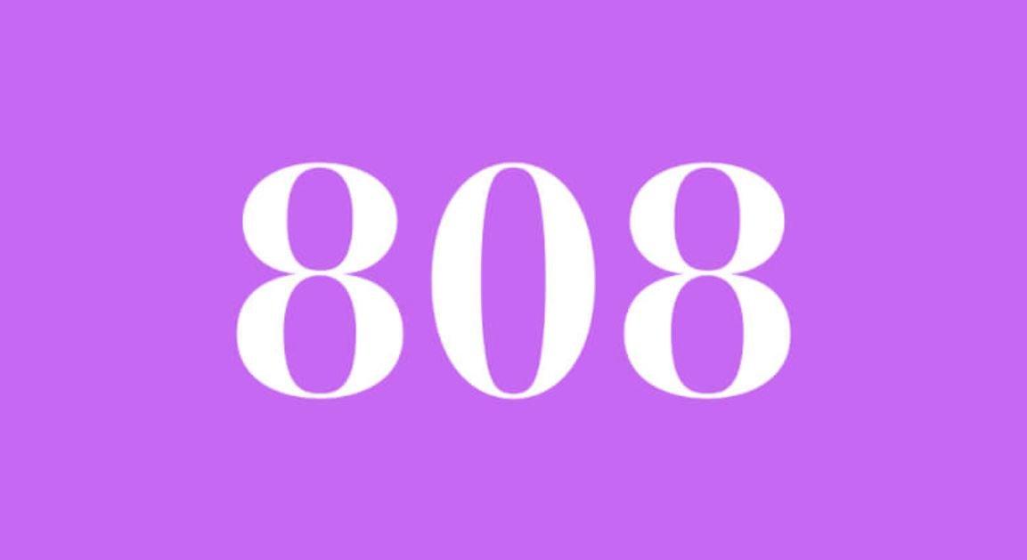 Significado del número 808