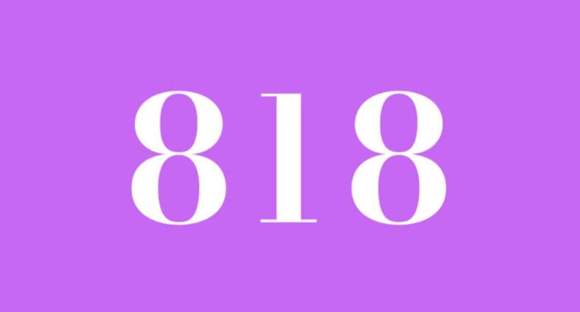 Significado del número 818