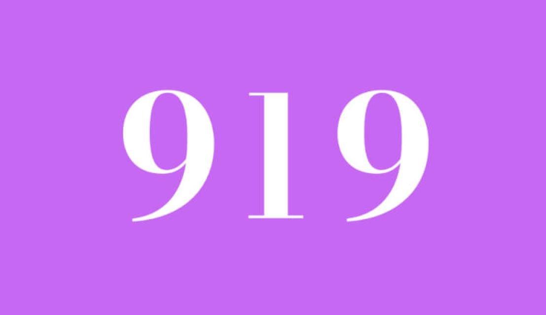 Significado del número 919