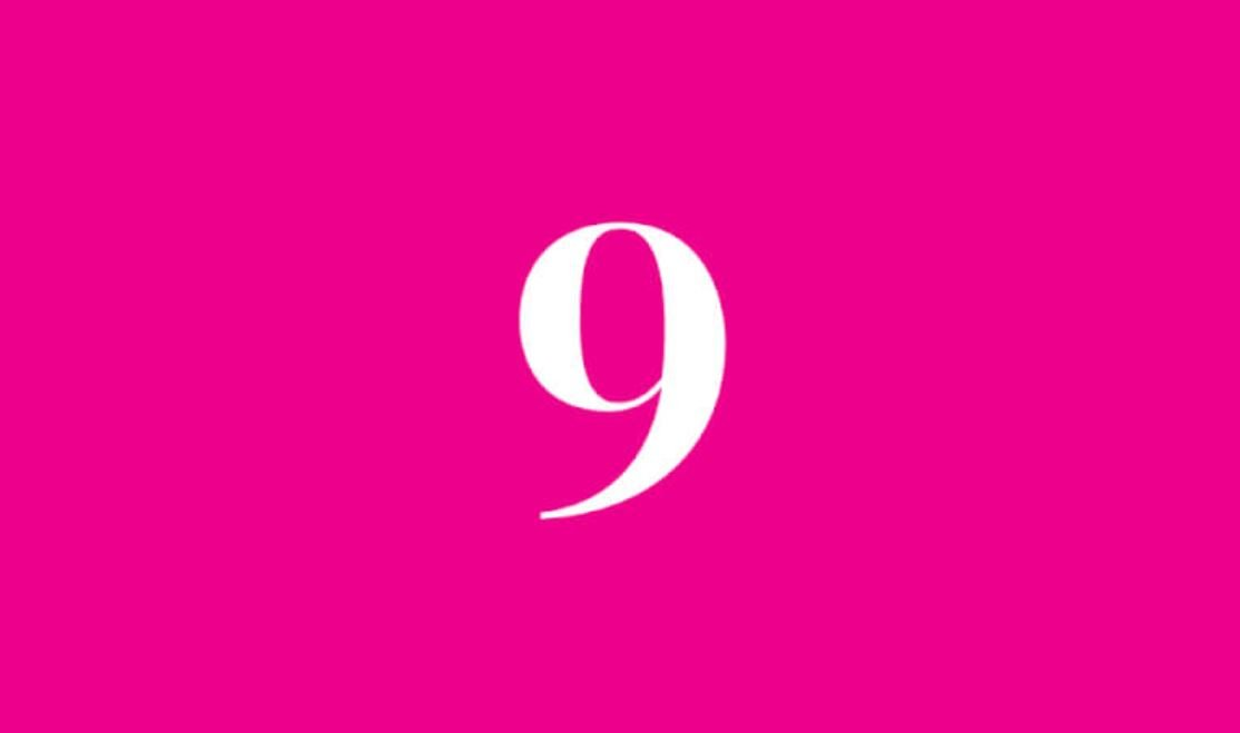Número de vida 9
