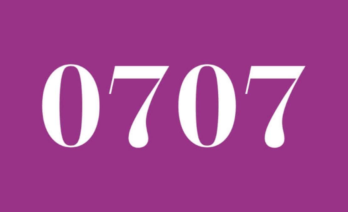 Significado del número 0707