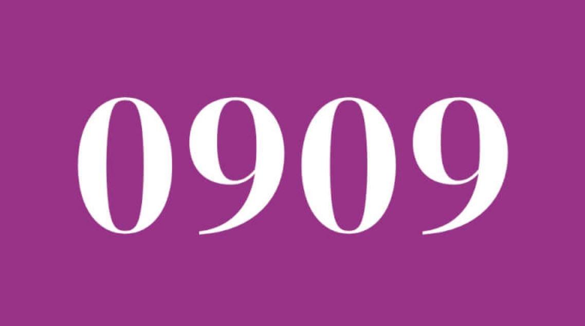 Significado del número 0909