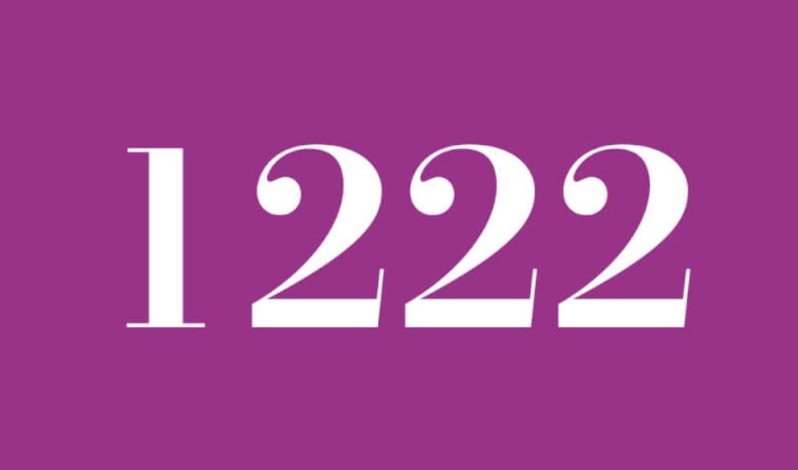 Significado del número 1222