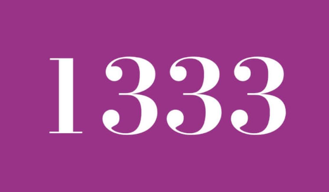 Significado del número 1333