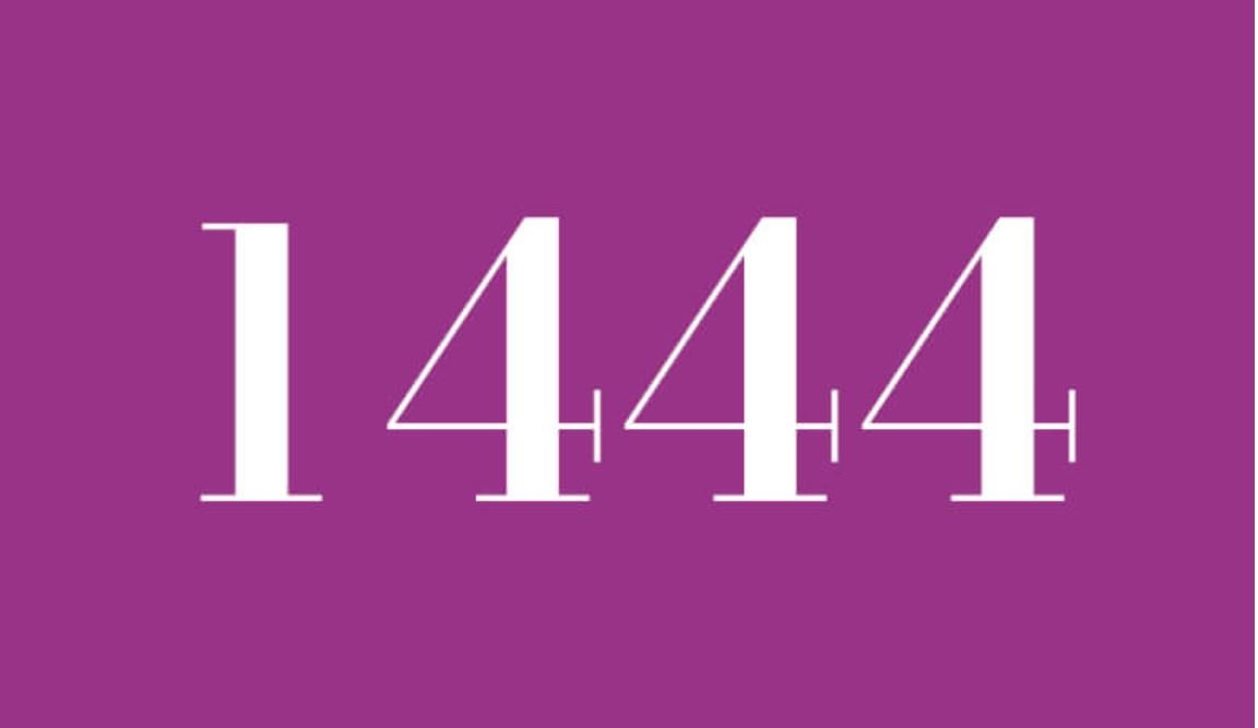 Significado del número 1444