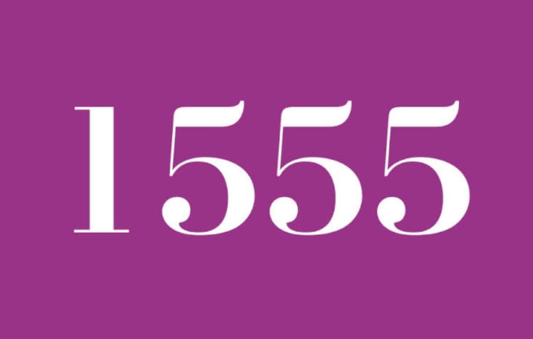 Significado del número 1555
