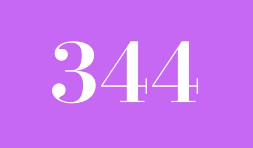 El número angelical 344