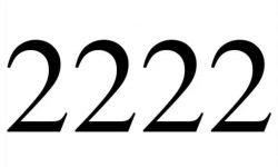 El número angelical 2222: Ángeles y significado