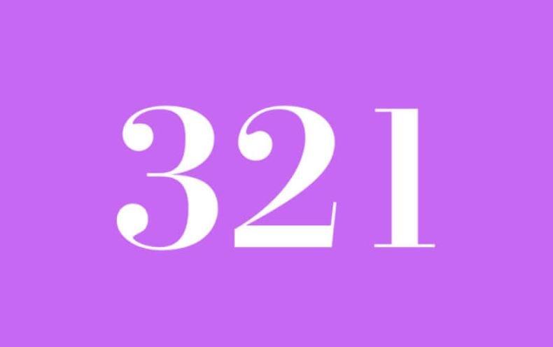 El número angelical 321