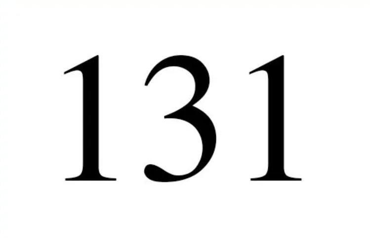 El número angelical 131