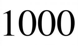 El número angelical 1000: Ángeles y significado